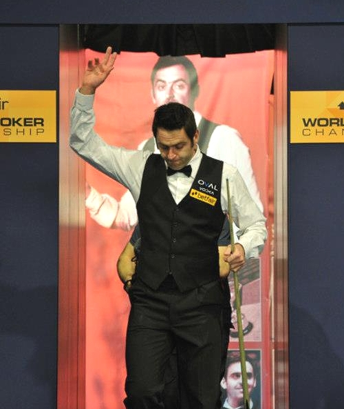 World Snooker Championship - O'Sullivan rockets to lead Carter