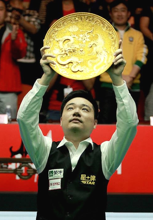 China Open 2014 - Ding Equals Hendry