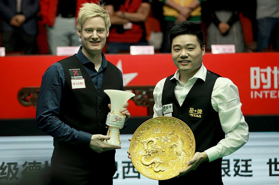 Neil Robertson Ding Junhui Snooker China Open Final 2014