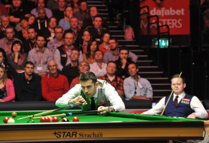 Mark Selby Shaun Murphy Snooker The Masters 2014 Semi-Final