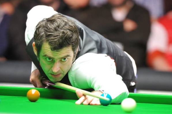 Ronnie O'Sullivan Snooker Masters 2014 565 Unanswered Points v Ricky Walden