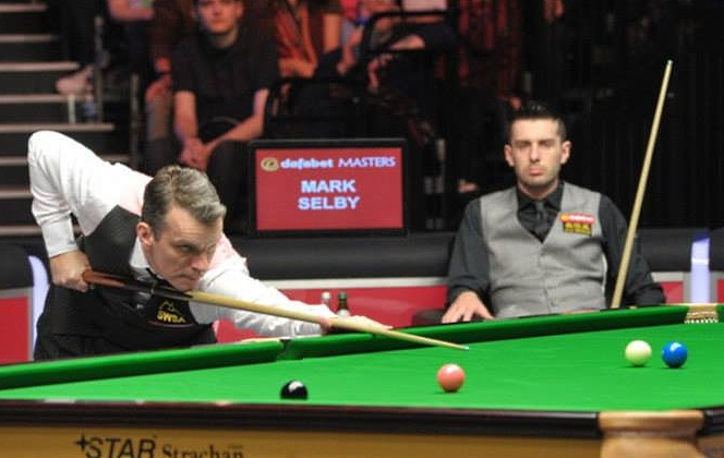 Mark Davis Mark Selby Dafabet Masters Snooker 2014