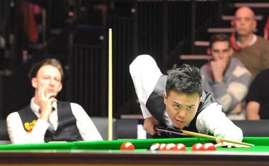 Marco Fu Judd Trump 2014 Snooker Masters