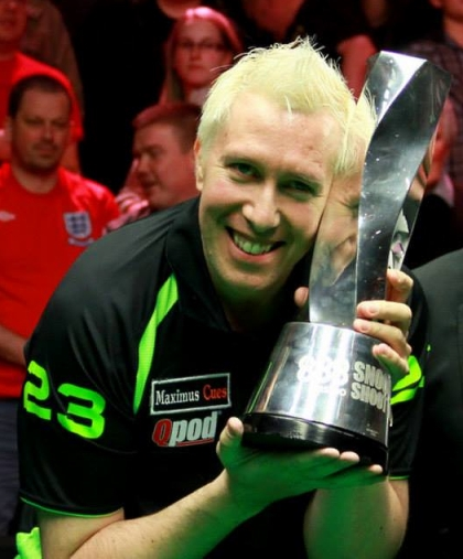 Dominic Dale Snooker Shoot Out Champion 2014 Trophy Blonde