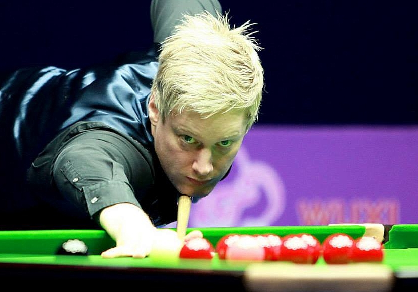 Neil Robertson Snooker Wuxi Classic 2014