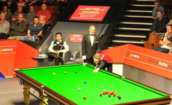 Michael Wasley Ding Junhui Snooker World Championship 2014