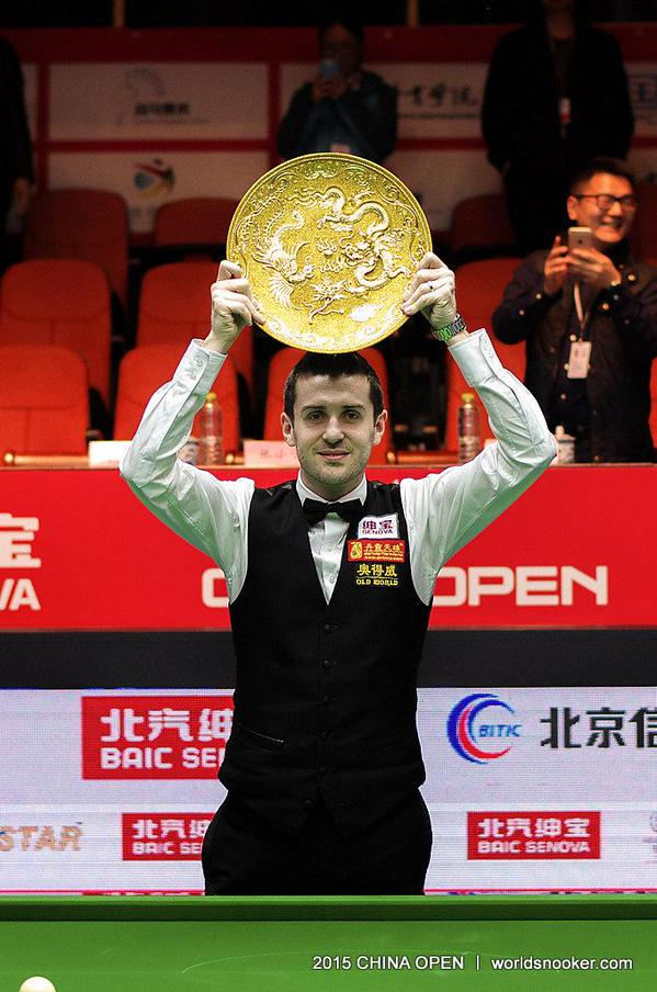 Mark Selby China Open Snooker Champion 2015