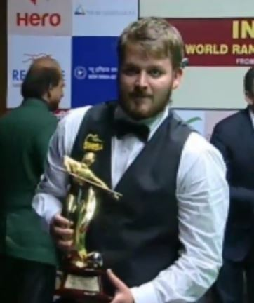 Michael White Triumphs At The Indian Open 2015