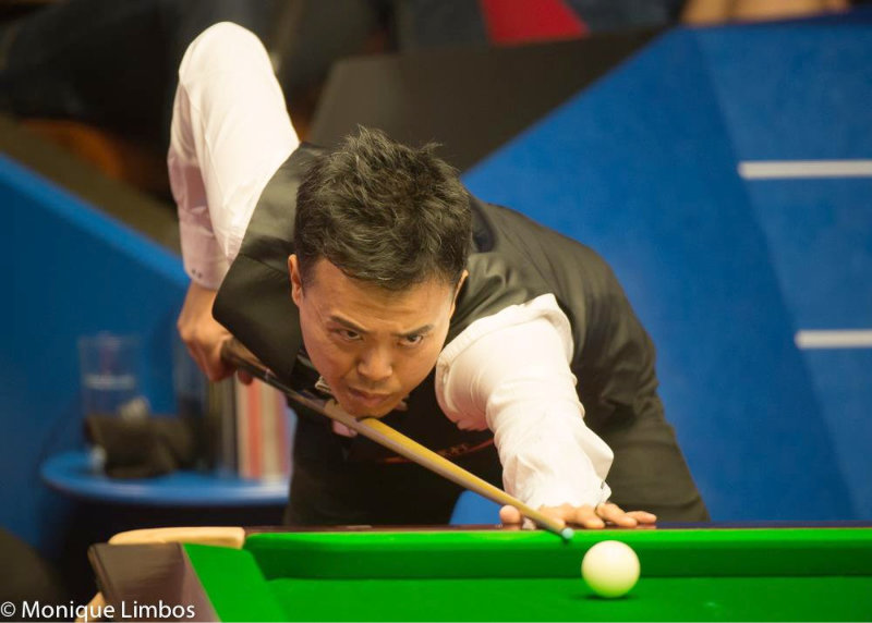 Marco Fu World Snooker Championship 2015