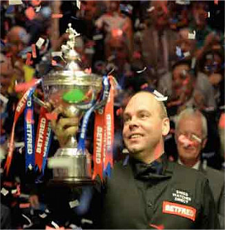 Superb Stuart Bingham Wins First World Snooker Championship Title