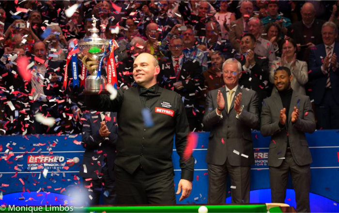 Stuart Bingham World Snooker Champion 2015