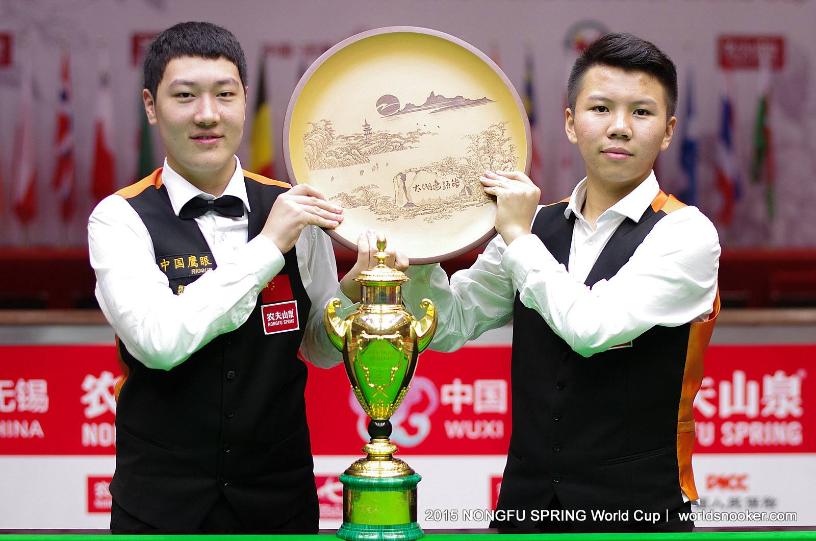 China B Storm To Victory At The Snooker World Cup 2015
