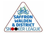 Saffron Walden & District Snooker League