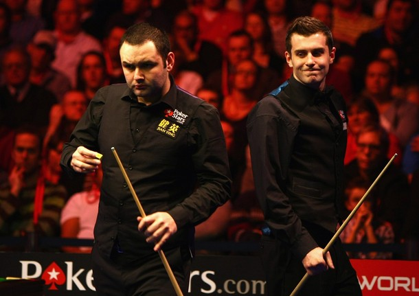 mark selby. Mark Selby and Stephen Maguire