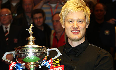 Neil Robertson wins World Championship 2010