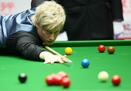 Neil Robertson at the China Open