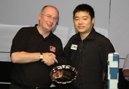 Ding Junhui Wins PTC5