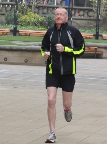 Davis & co warm up for Sheffield half marathon