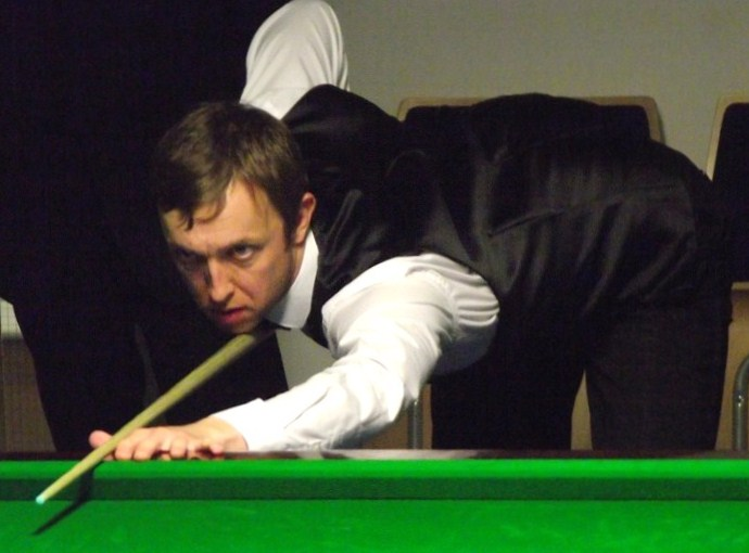 Andrew Higginson PTC2 Snooker 2011