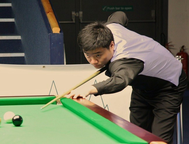Amazing Ding Makes Second 147 in Three Days