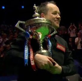 John Higgins Snooker World Champion 2012