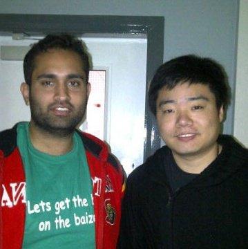 Khizar Raoof & Ding Junhui