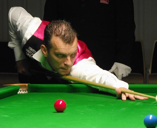 Mark Davis PTC2 snooker 2011
