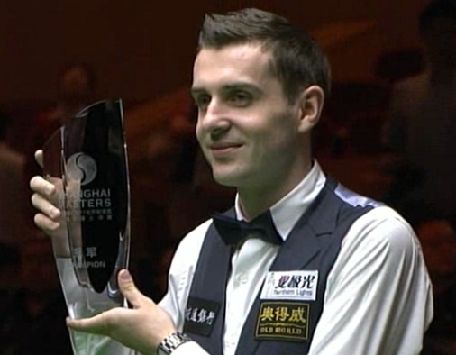 Mark Selby Snooker Shanghai Masters Champion 2011