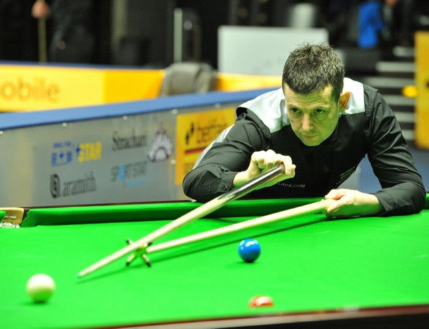 German Masters - Peter draws a line across Higgins