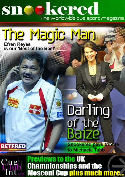 Snookered Magazine - November 2011