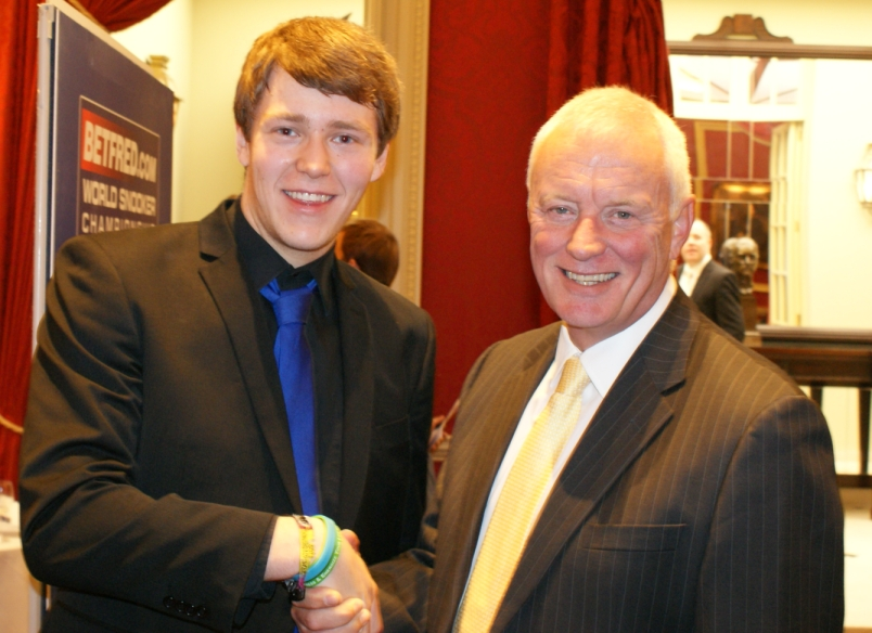 Stephen Kent Barry Hearn Snooker 2012