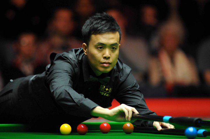 Marco Fu at the Masters 2011