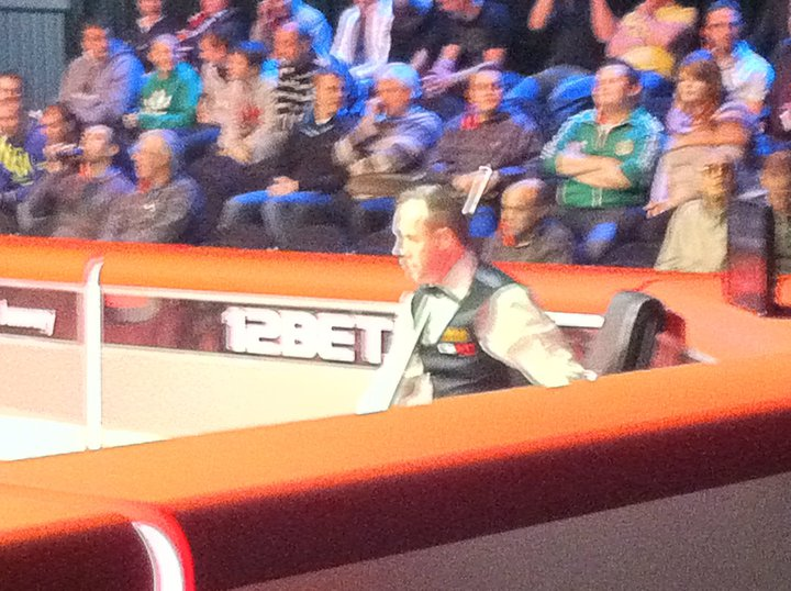 John Higgins at UK Championship 2010