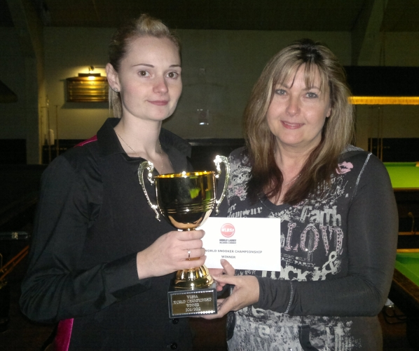 Reanne Evans Snooker Ladies World Champion 2012