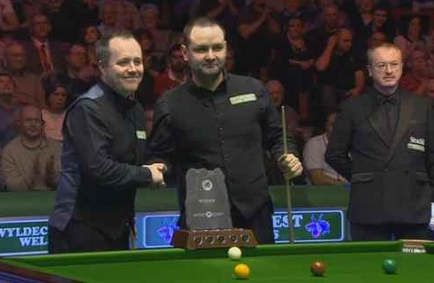John Higgins and Stephen Maguire, Welsh Open Final 2011