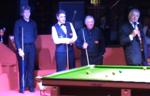Steve Kent Cliff Thorburn Dennis Taylor John Virgo Snooker Legends